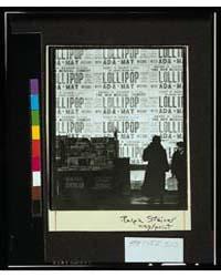 Lollipop, Ralph Steiner., Photograph Num... by Steiner, Ralph