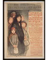 En Belgique Les Belges Ont Faim Tombola ... by Steinlen, Théophile, Alexandre