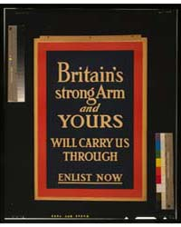 Britains Strong Arm, and Yours, will Car... by Library of Congress