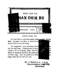 Mizo Leh Vai Chanchin Bu 1915 by