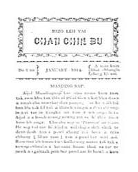 Mizo Leh Vai Chanchinbu 1914 by