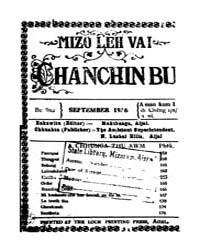Mizo Leh Vai Chanchinbu 1936 by Makthanga