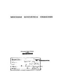 Mizoram Education Chanchin by Lianzawna, C.