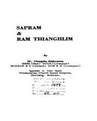 Sap Ram and Ram Thianghlim by Biakmawia, C.