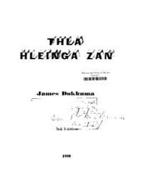 Thla Hleinga Zan by Dokhuma, James