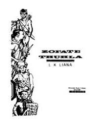 Zofate Thuhla by Liana, L. K.