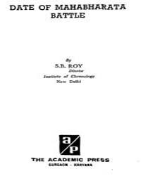 Date of Mahabharata Battle by Roy, S. B.