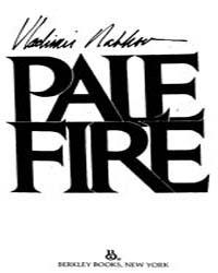 Pale Fire by Nabokov Vladimir