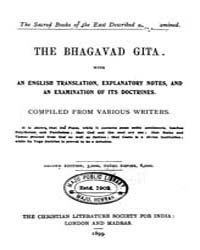 The Bhagavad Gita Ed. 2Nd by