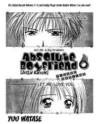 Absolute Boyfriend 20 : a Big Problem Volume Vol. 20 by Yuu, Watase