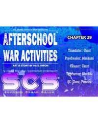 Afterschool Military Activity 29 Volume No. 29 by Il-kwon, Ha