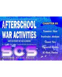 Afterschool Military Activity 5 Volume No. 5 by Il-kwon, Ha