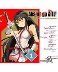 Akame Ga Kiru! Zero 1 Volume No. 1 by Takahiro
