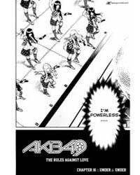 Akb49 - Renai Kinshi Jourei 16: Under an... Volume Vol. 16 by Reiji, Miyajima