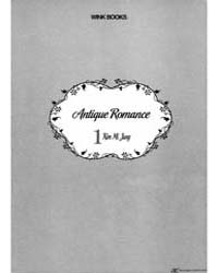 Antique Romance 1: 1 Volume Vol. 1 by Kimi, Mi-jung