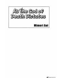 As the Death God Dictates 5 : Chapter 5 Volume Vol. 5 by Ao, Mimori