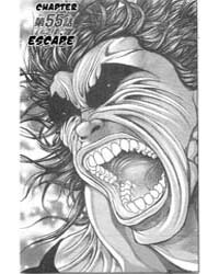 Baki - Son of Ogre 55: Escape Volume Vol. 55 by Itagaki, Keisuke