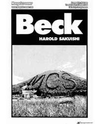Beck 102 Volume Vol. 102 by Sakuishi, Harold