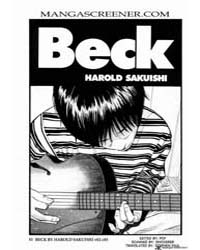 Beck 20 Volume Vol. 20 by Sakuishi, Harold