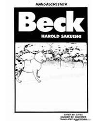 Beck 60 Volume Vol. 60 by Sakuishi, Harold