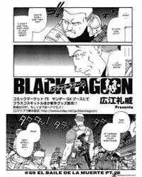 Black Lagoon 69: El Baile De La Muerte P... Volume Vol. 69 by Hiroe, Rei