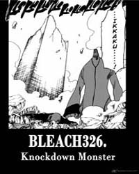 Bleach 326 : Knockdown Monster Volume No. 326 by Kubo, Tite