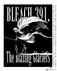 Bleach 391 : the Blazing Glaicers Volume No. 391 by Kubo, Tite