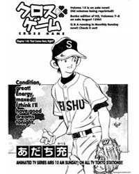 Cross Game 152 : That Comes Next Right Volume Vol. 152 by Adachi, Mitsuru