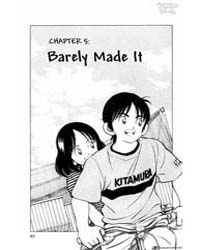 Cross Game 5 : Barely Made it Volume Vol. 5 by Adachi, Mitsuru