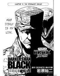 Darker Than Black (Darker Than Black: Ku... Volume No. 19 by Bones, Okamura Tensai