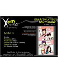 Dear, Only You Don'T Know! 15 Volume No. 15 by Yuria