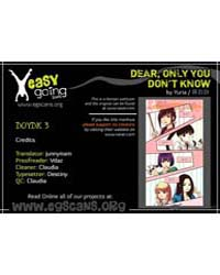 Dear, Only You Don'T Know! 3 Volume No. 3 by Yuria