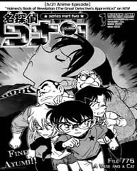 Detective Conan 776 : a Vase and a Cat Volume No. 776 by Aoyama, Gosho