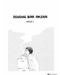 Dining Bar Akira 1 : 1 Volume Vol. 1 by Yamashita, Tomoko