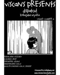 Dispatch 4 : 4 Volume Vol. 4 by Hiyoko, Kobayashi
