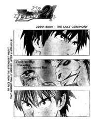 Eyeshield 21 209 : the Last Ceremony Volume Vol. 209 by Riichiro, Inagaki