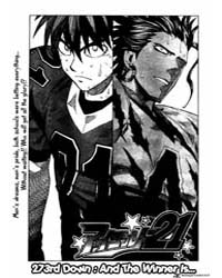 Eyeshield 21 273 : and the Winner is Volume Vol. 273 by Riichiro, Inagaki