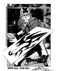 Eyeshield 21 292 : Card No.21 Volume Vol. 292 by Riichiro, Inagaki