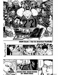 Eyeshield 21 305 : Down I Am an American... Volume Vol. 305 by Riichiro, Inagaki