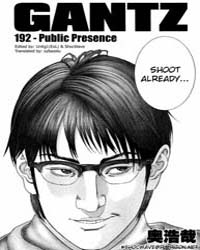 Gantz 192 Volume No. 192 by Oku, Hiroya