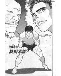 Grappler Baki 45 Volume Vol. 45 by Keisuke, Itagaki