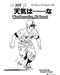 H2 293 : Weather-wise, at Least Volume Vol. 293 by Adachi, Mitsuru