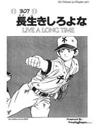 H2 307 : Live a Long Time Volume Vol. 307 by Adachi, Mitsuru