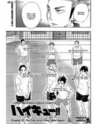 Haikyu!! 27: the Cat and Crows Meet Agai... Volume Vol. 27 by Haruichi, Furudate