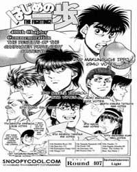 Hajime No Ippo 407 Volume No. 407 by Morikawa, Jyoji