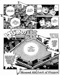 Hajime No Ippo 434 : Lack of Oxygen Volume No. 434 by Morikawa, Jyoji