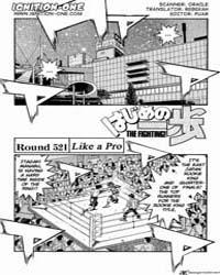 Hajime No Ippo 521 : Face of a Pro Volume No. 521 by Morikawa, Jyoji