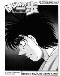 Hajime No Ippo 667 Volume No. 667 by Morikawa, Jyoji