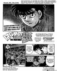 Hajime No Ippo 842 : the Light Volume No. 842 by Morikawa, Jyoji