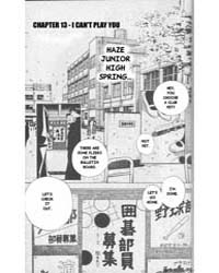 Hikaru No Go 13 : I Can'T Play You Volume Vol. 13 by Yumi, Hotta